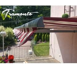 Tramonto PREMIUM 250x200 Bordowo-Beżowa