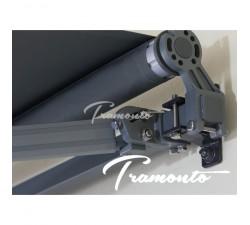 Markiza tarasowa ANTRACYT 300x250 Szara STD