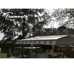 Tramonto Standard 195x150 Beżowo-Bordowa
