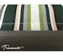Markiza tarasowa ANTRACYT 400x300 Beż-Zielona STD