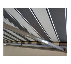 Markiza tarasowa ANTRACYT 300x250 Szaro-Szara STD