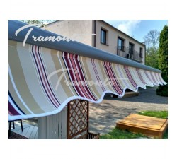Tramonto Standard 200x150 Beżowo-Bordowa