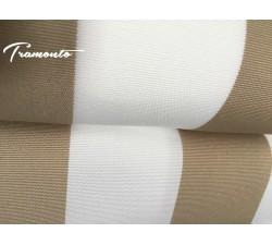 200x150 Beżowo-Białe Poszycie Markizy Materiał