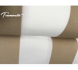 300x250 Beżowo-Białe Poszycie Markizy Materiał