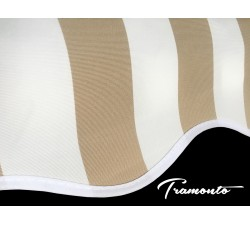450x300 Beżowo-Białe Poszycie Markizy Materiał