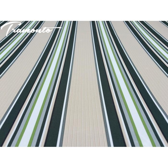 250x200 Beżowo-Zielone Poszycie Markizy Materiał