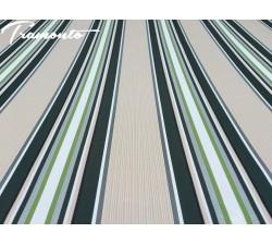 300x250 Beżowo-Zielone Poszycie Markizy Materiał