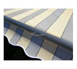 Markiza tarasowa ANTRACYT 450x300 Szaro-Beż PREM