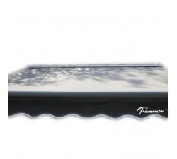 Markiza tarasowa ANTRACYT 160x120 Szara PREM