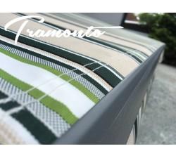 Markiza tarasowa ANTRACYT 160x120 Beż-Zielona PREM