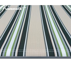 Markiza tarasowa ANTRACYT 400x300 Beż-Zielona PREM